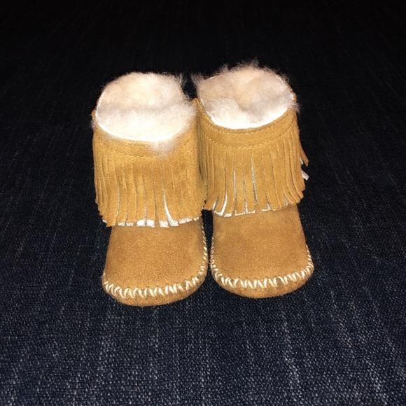 d25f5ea2bc8 UGG Kids Branyon Fringe Boots